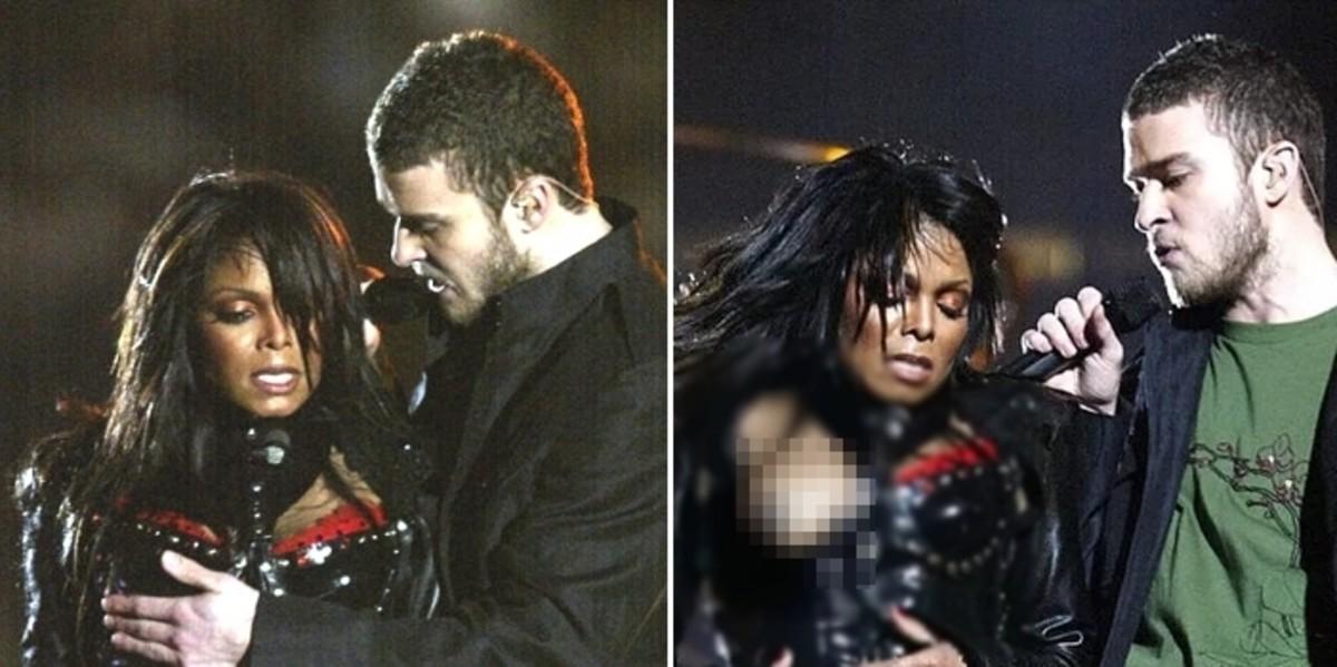 저스틴 팀버레이크는 공연 도중 자넷 잭슨의 '옷'을 강제로 찢어 가슴을 드러낸 뒤 17 년 만에 '사과'했다.