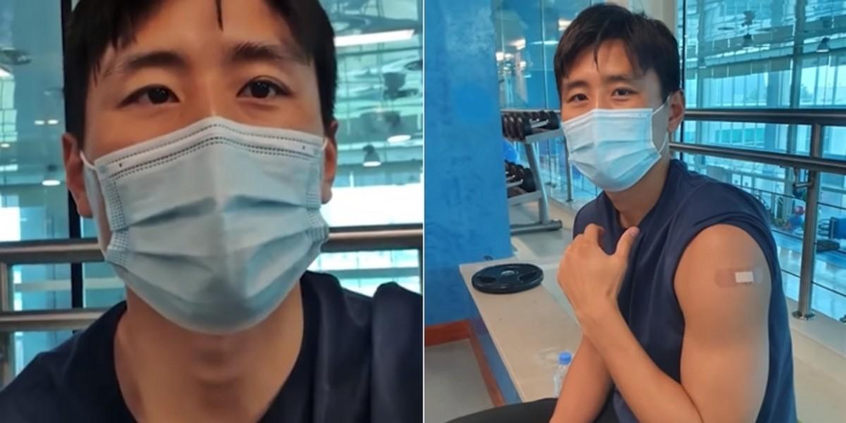 카타르에서 '화이자 백신'을 처음받은 구자철의 예방 접종 후기